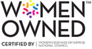 Women Owned - Certified by Women's Business Enterprise National Council